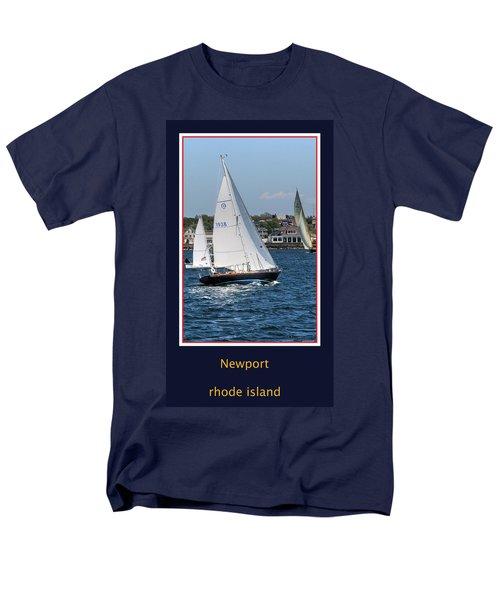 Sailing Newport Men's T-Shirt  (Regular Fit)