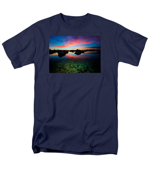 Sunset With A Whale Men's T-Shirt  (Regular Fit) by Sean Sarsfield