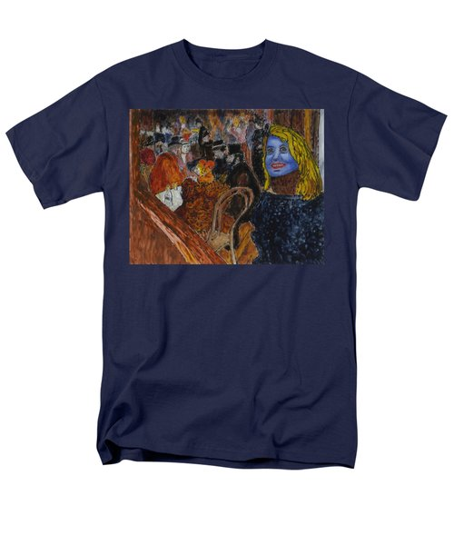 Susan Lautrec Men's T-Shirt  (Regular Fit)