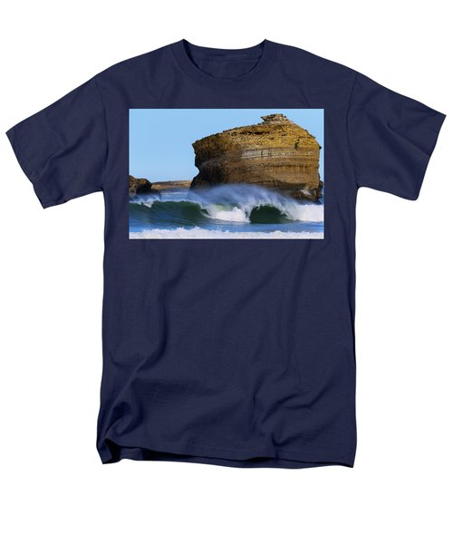 Men's T-Shirt  (Regular Fit) featuring the photograph The Wave by Thierry Bouriat