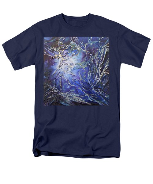 Men's T-Shirt  (Regular Fit) featuring the mixed media Venus by Angela Stout