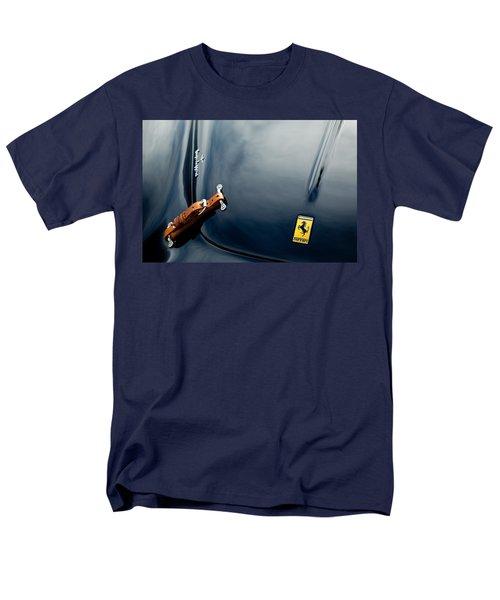 1950 Ferrari Hood Emblem Men's T-Shirt  (Regular Fit) by Jill Reger