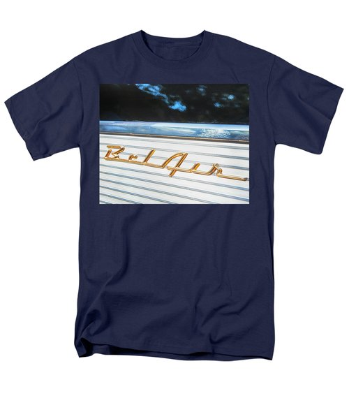 Men's T-Shirt  (Regular Fit) featuring the photograph 1957 Chevrolet Bel Air by Theresa Tahara