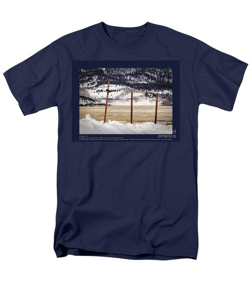 1st Peter Men's T-Shirt  (Regular Fit) by Janice Rae Pariza