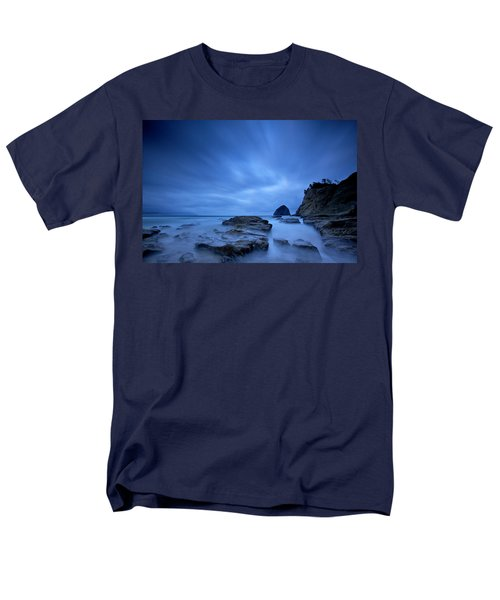 Men's T-Shirt  (Regular Fit) featuring the photograph Cape Kiwanda by Evgeny Vasenev