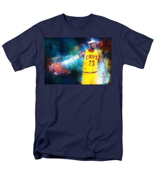 Lebron James Men's T-Shirt  (Regular Fit) by Taylan Apukovska