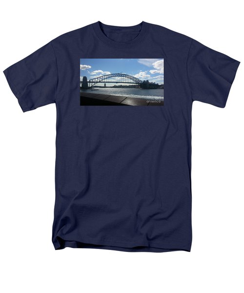 Sydney Harbor Bridge Men's T-Shirt  (Regular Fit) by Bev Conover