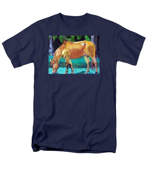 2009081315 Grazing Horse Men's T-Shirt  (Regular Fit) by Garland Oldham