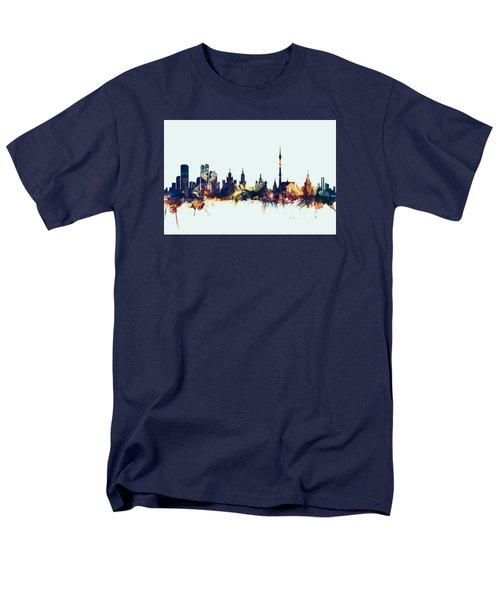 Moscow Russia Skyline Men's T-Shirt  (Regular Fit)