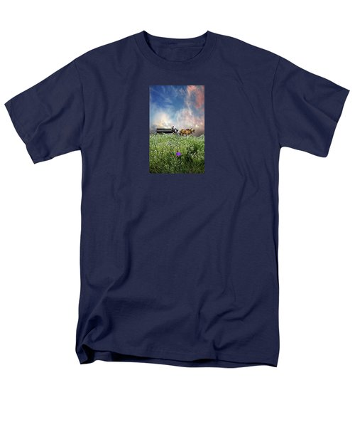 Men's T-Shirt  (Regular Fit) featuring the photograph 4376 by Peter Holme III