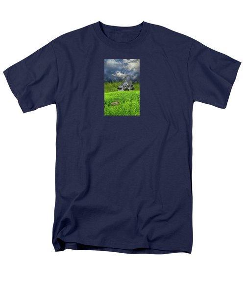 Men's T-Shirt  (Regular Fit) featuring the photograph 4379 by Peter Holme III