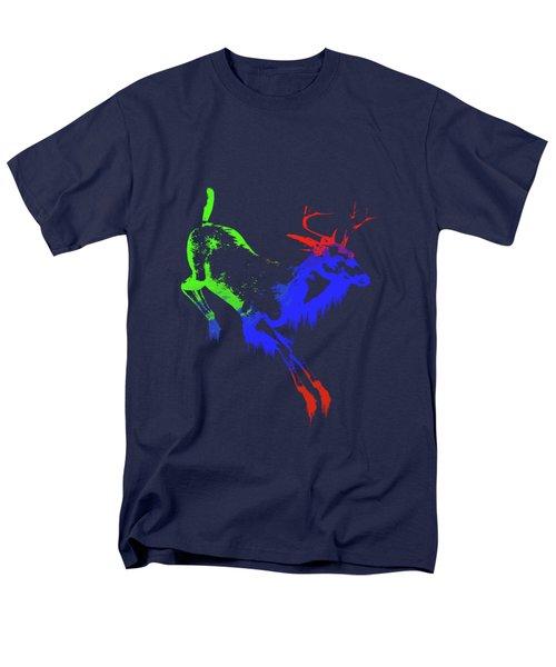 Paint Drips Men's T-Shirt  (Regular Fit) by Solomon Barroa