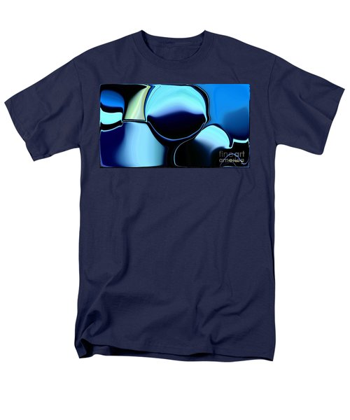 Men's T-Shirt  (Regular Fit) featuring the digital art 57 Distortions by Greg Moores