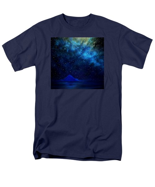 Cosmic Light Series Men's T-Shirt  (Regular Fit) by Len Sodenkamp