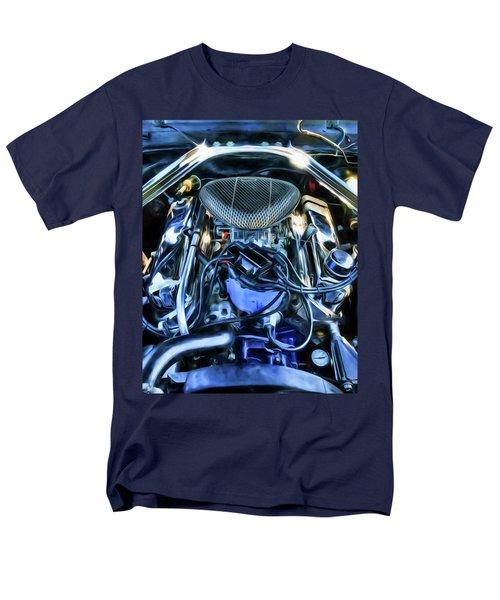 Men's T-Shirt  (Regular Fit) featuring the photograph 67 Mustang Horsepower by Trey Foerster