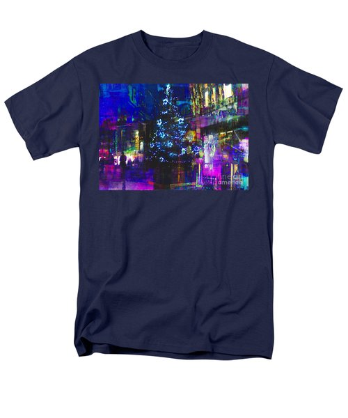 Men's T-Shirt  (Regular Fit) featuring the photograph A Bright And Colourful Christmas by LemonArt Photography