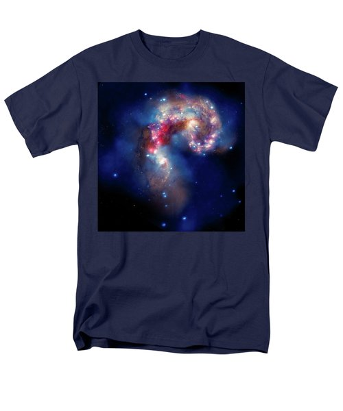 Men's T-Shirt  (Regular Fit) featuring the photograph A Galactic Spectacle by Marco Oliveira