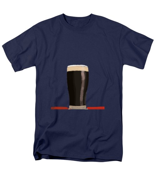 A Glass Of Stout Men's T-Shirt  (Regular Fit) by Keshava Shukla