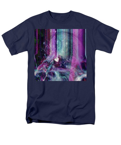 Men's T-Shirt  (Regular Fit) featuring the digital art A Kind Heart by Linda Sannuti