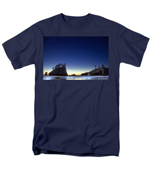 A Night For Stargazing Men's T-Shirt  (Regular Fit) by William Lee