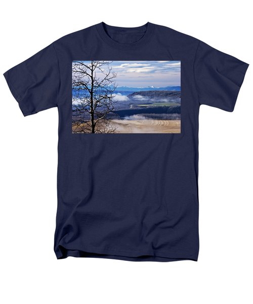 A Road Half Way There Men's T-Shirt  (Regular Fit) by Sandra Foster