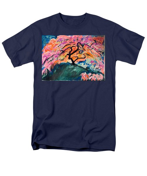A Splendid Japanese Maple Tree Men's T-Shirt  (Regular Fit) by Esther Newman-Cohen