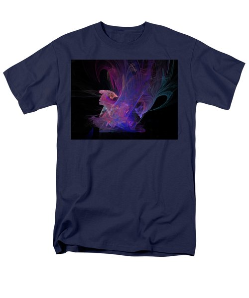 Abstact Pink Swan Men's T-Shirt  (Regular Fit) by Tamara Sushko