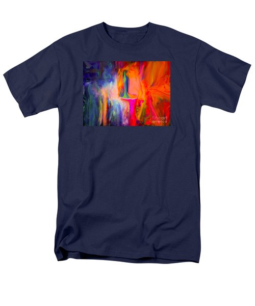 Abstract Art  Waiting Men's T-Shirt  (Regular Fit) by Sherri's Of Palm Springs