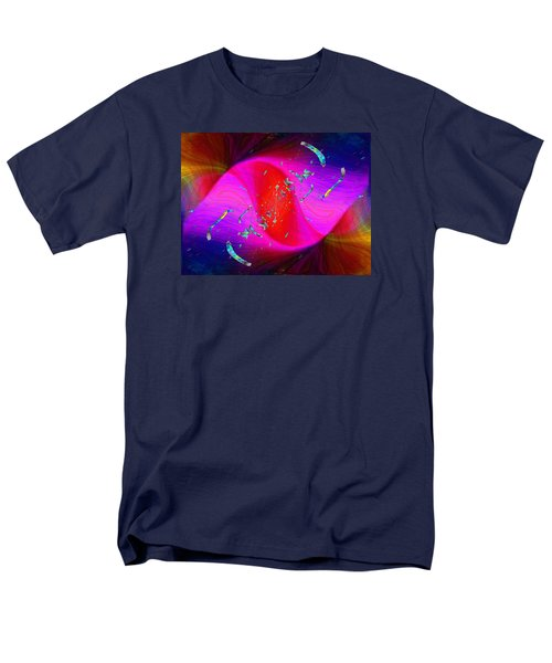 Men's T-Shirt  (Regular Fit) featuring the digital art Abstract Cubed 354 by Tim Allen