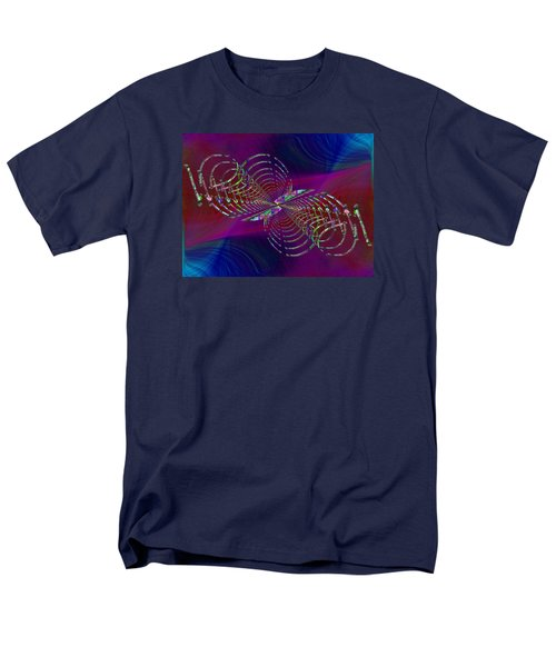 Men's T-Shirt  (Regular Fit) featuring the digital art Abstract Cubed 369 by Tim Allen