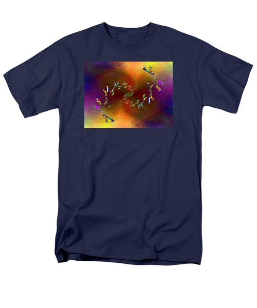 Men's T-Shirt  (Regular Fit) featuring the digital art Abstract Cubed 375 by Tim Allen