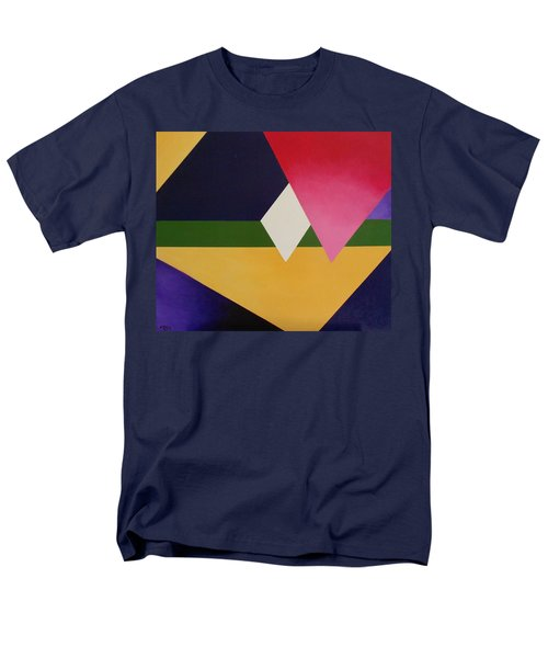 Men's T-Shirt  (Regular Fit) featuring the painting Abstract by Jamie Frier