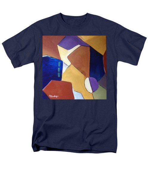 Abstract Square  Men's T-Shirt  (Regular Fit) by Patricia Cleasby