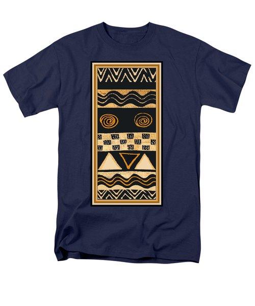 African Memories Men's T-Shirt  (Regular Fit) by Vagabond Folk Art - Virginia Vivier
