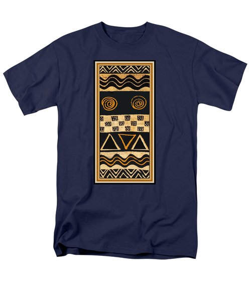 African Primordial Spirits - 2 Men's T-Shirt  (Regular Fit) by Vagabond Folk Art - Virginia Vivier