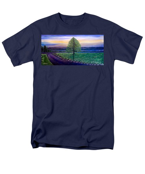 After The Rain Comes The Joy Men's T-Shirt  (Regular Fit) by Kimberlee Baxter
