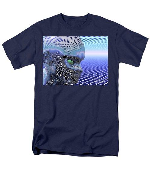Alien Stare Men's T-Shirt  (Regular Fit)