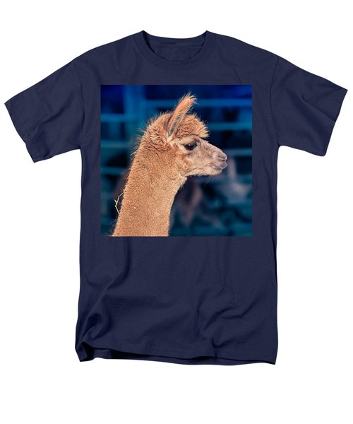 Alpaca Wants To Meet You Men's T-Shirt  (Regular Fit) by TC Morgan