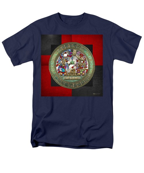 Altar 5 From Tikal Men's T-Shirt  (Regular Fit) by Serge Averbukh
