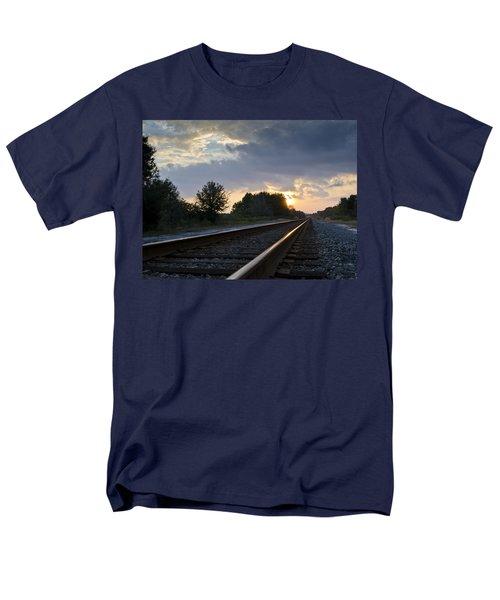 Amtrak Railroad System Men's T-Shirt  (Regular Fit) by Carolyn Marshall