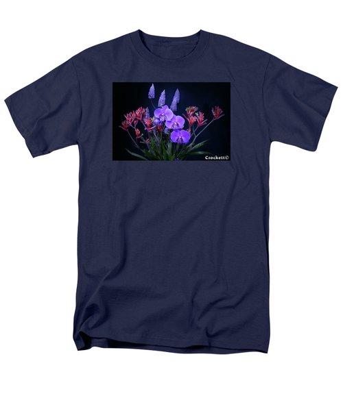 An Aussie Flower Arrangement Men's T-Shirt  (Regular Fit) by Gary Crockett