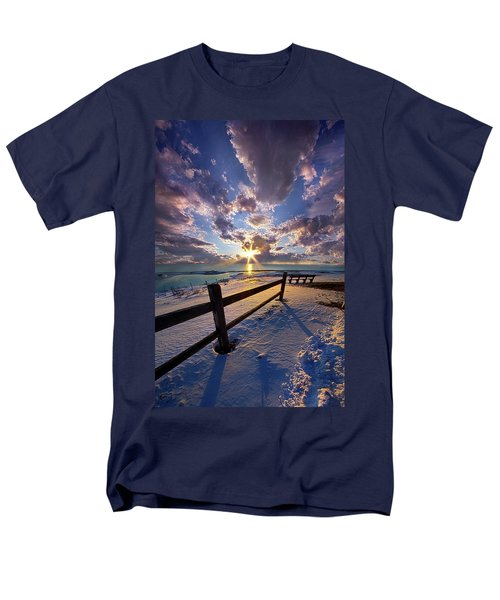 Men's T-Shirt  (Regular Fit) featuring the photograph And I Will Give You Rest. by Phil Koch