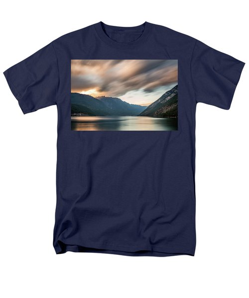 Anderson Lake Dreamscape Men's T-Shirt  (Regular Fit) by Pierre Leclerc Photography