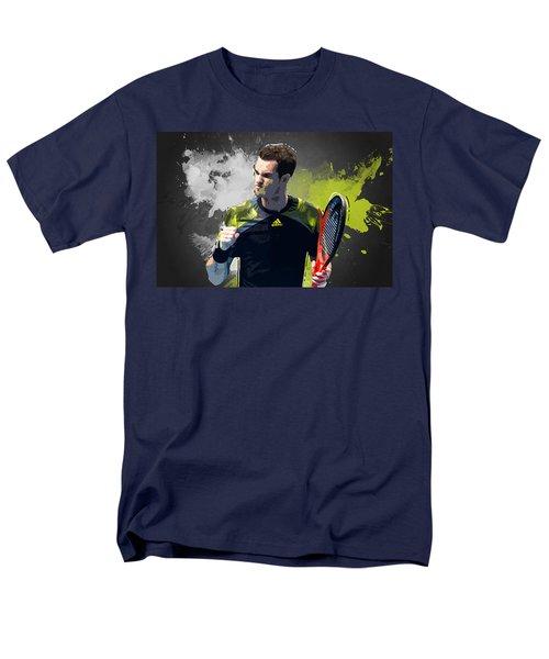 Andy Murray Men's T-Shirt  (Regular Fit) by Semih Yurdabak