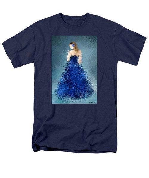 Men's T-Shirt  (Regular Fit) featuring the digital art Angelica by Nancy Levan