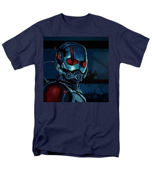 Ant Man Painting Men's T-Shirt  (Regular Fit)