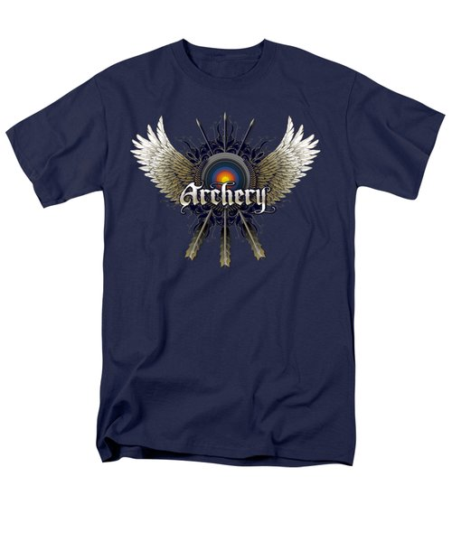 Archery Wings Men's T-Shirt  (Regular Fit) by Rob Corsetti