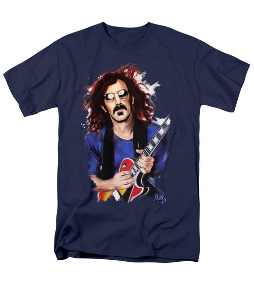 Frank Zappa Men's T-Shirt  (Regular Fit) by Melanie D