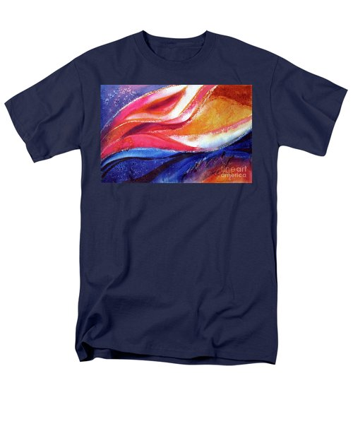Men's T-Shirt  (Regular Fit) featuring the painting As I Bloom by Kathy Braud