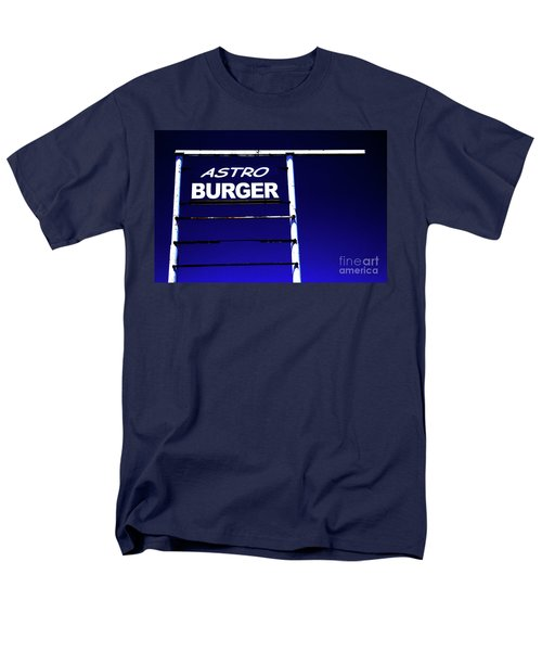 Men's T-Shirt  (Regular Fit) featuring the photograph Astro Burger by Jim and Emily Bush